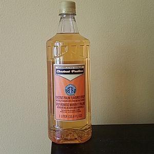 Starbucks Chestnut praline flavored syrup
